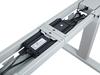 ErgoFount BSSD-10-17/F23S G - Основание стола для работы стоя и сидя c электроприводом на телескопических опорах 620–1280 мм, макс. нагрузка 100 кг, серебристое
