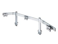 ErgoFount TBSS-300WG - Настольное крепление для 3 мониторов диагональю до 24'' (1х3), струбцина типа G, макс. нагрузка 36 кг