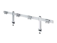 ErgoFount TBSS-400C - Настольное крепление для 4 мониторов диагональю до 24'' (1х4), зажим типа C, макс. нагрузка 48 кг