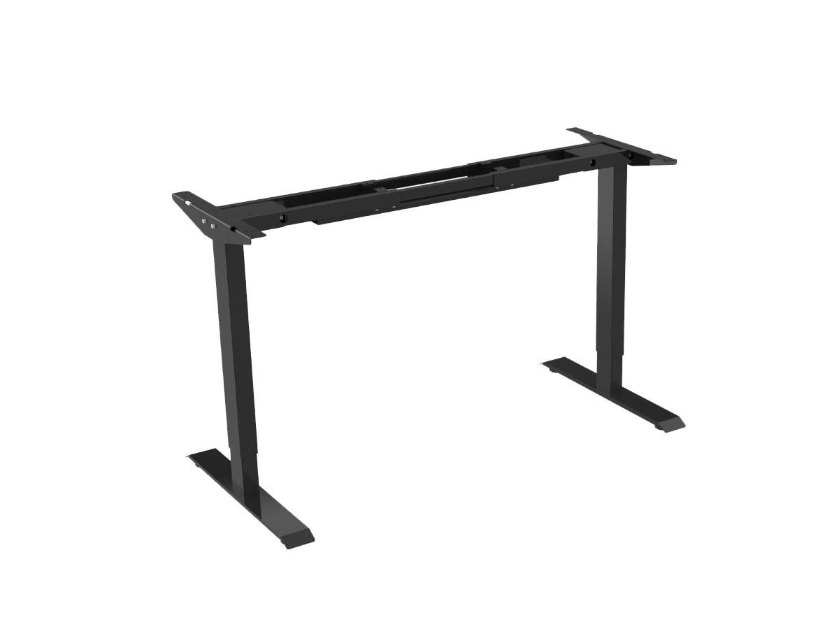 ErgoFount BSSD-L10-18/02 B - Основание стола для работы стоя и сидя с электроприводом на телескопических опорах 710–1190 мм, макс. нагрузка 100 кг, черное