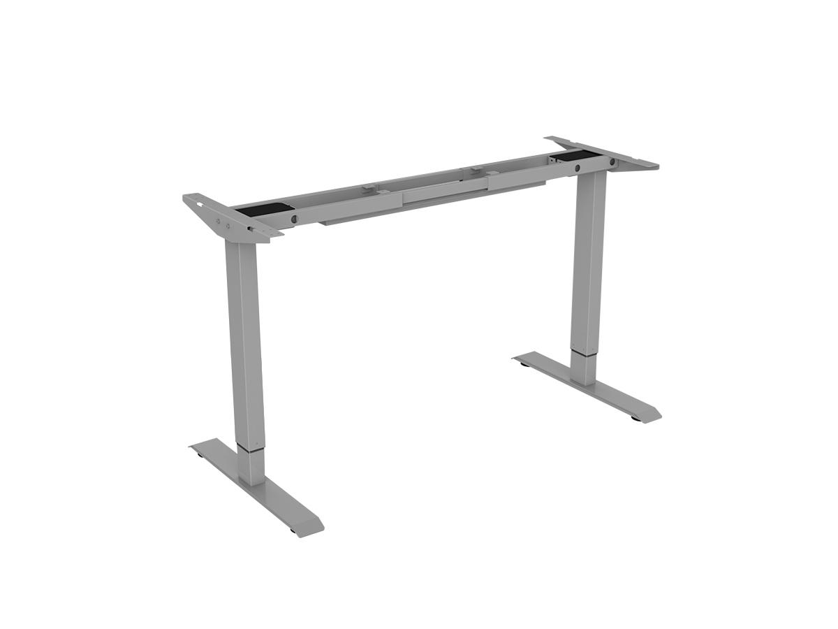 ErgoFount BSSD-L10-18/02 G - Основание стола для работы стоя и сидя с электроприводом на телескопических опорах 710–1190 мм, макс. нагрузка 100 кг, серое