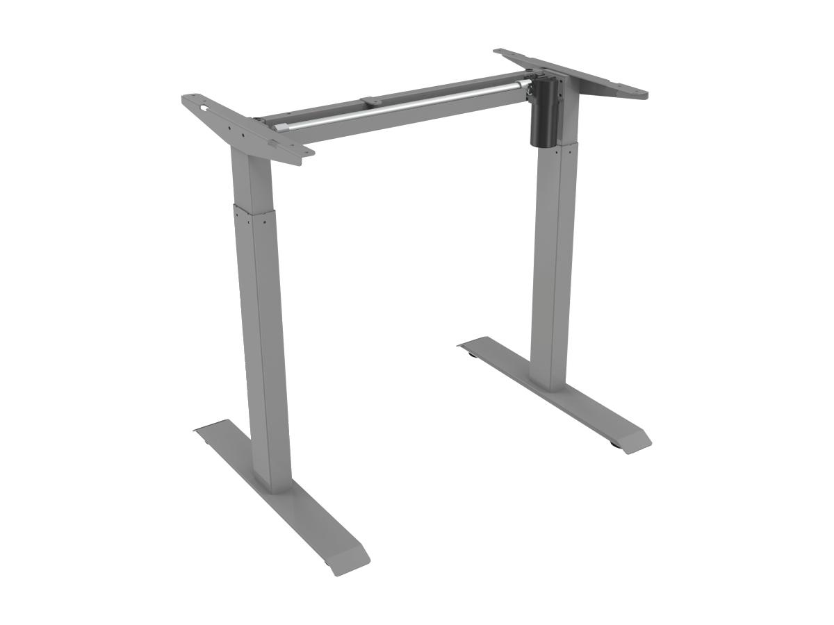 ErgoFount BSSD-L10-18/12 G - Основание стола для работы стоя и сидя с электроприводом на телескопических опорах 710–1210 мм, макс. нагрузка 70 кг, серое