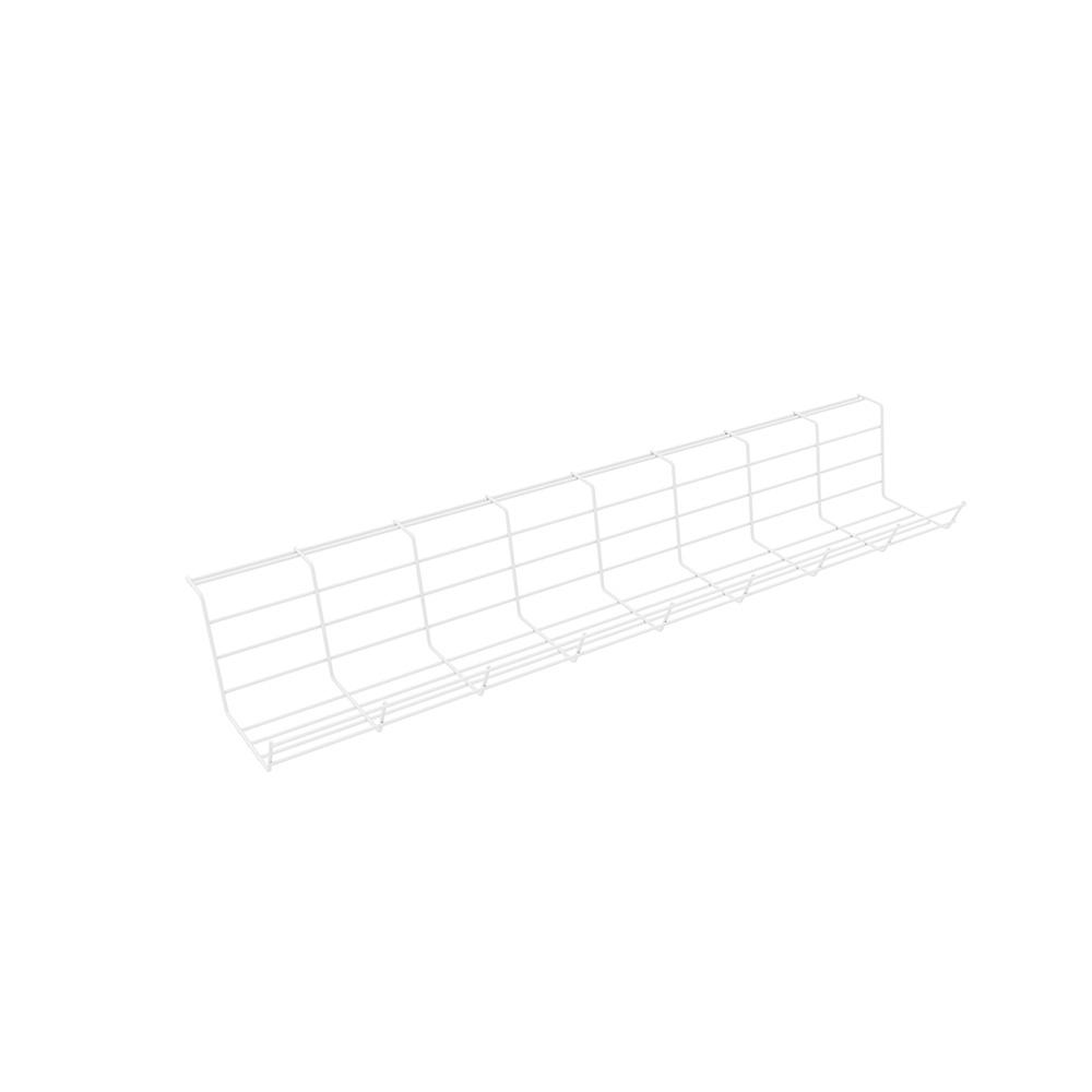 Kondator 429-4004 - Горизонтальный кабельный лоток 724 мм, белый