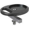 Kondator 438-502AB - Монтажный комплект для профиля Conceptum F-Profile, струбцина, черный