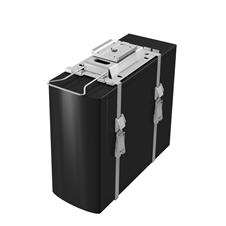 Kondator 427-CS27E - Подставка для системного блока LiftFlex с вращением, серебристая