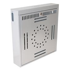 Kondator 428-LU50 - Вертикальный ящик для ноутбука с замком, серебристый