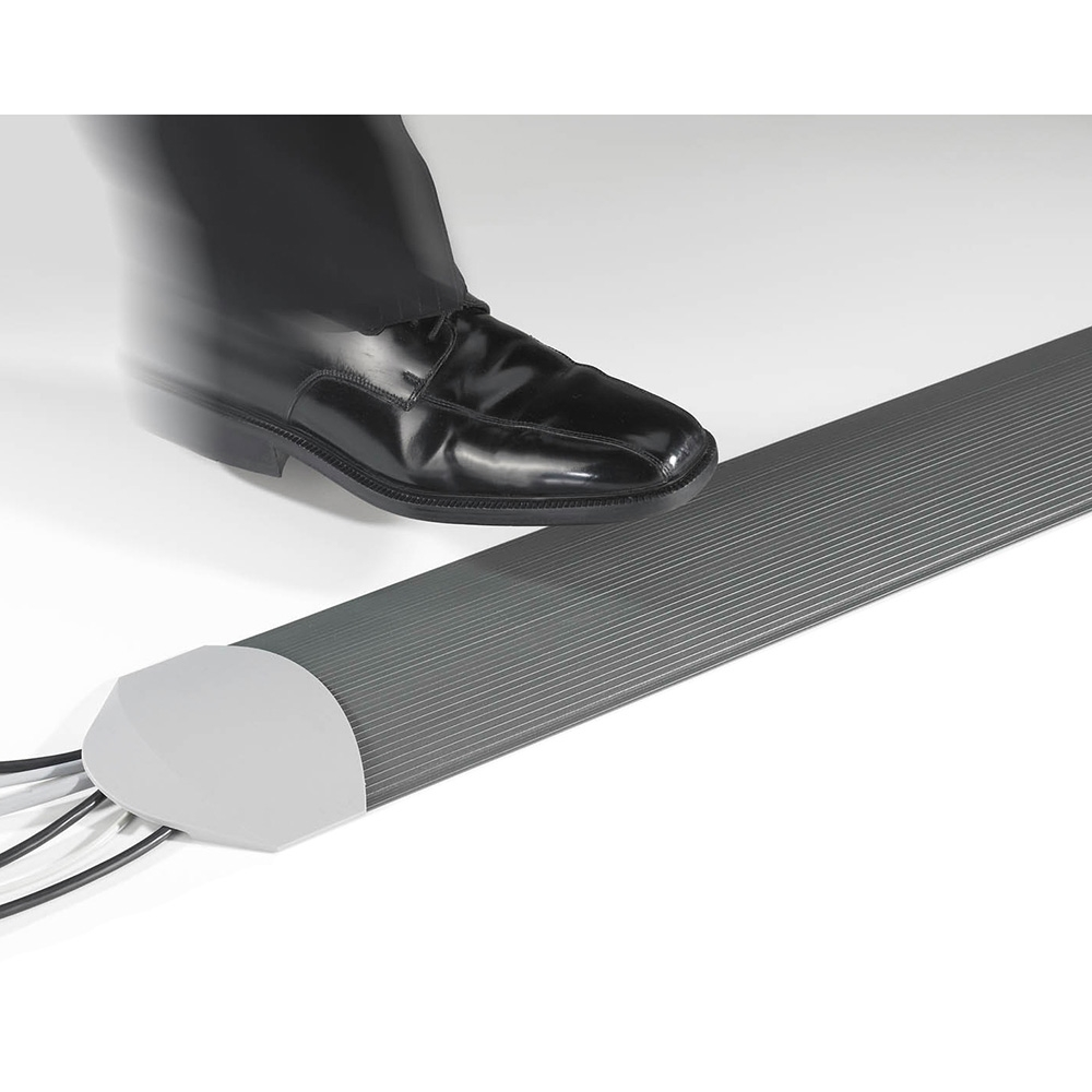 Kondator 429-S30BM - Напольный кабельный трап, 3000 мм, серый