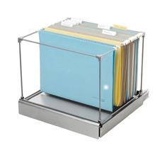 Kondator 435-4491 - Картотека для подвесных файловых папок Mappi, серебристая
