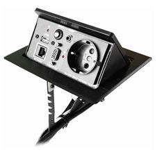 Qtex MDA-224 - Настольный автоматический модуль кабельных подключений