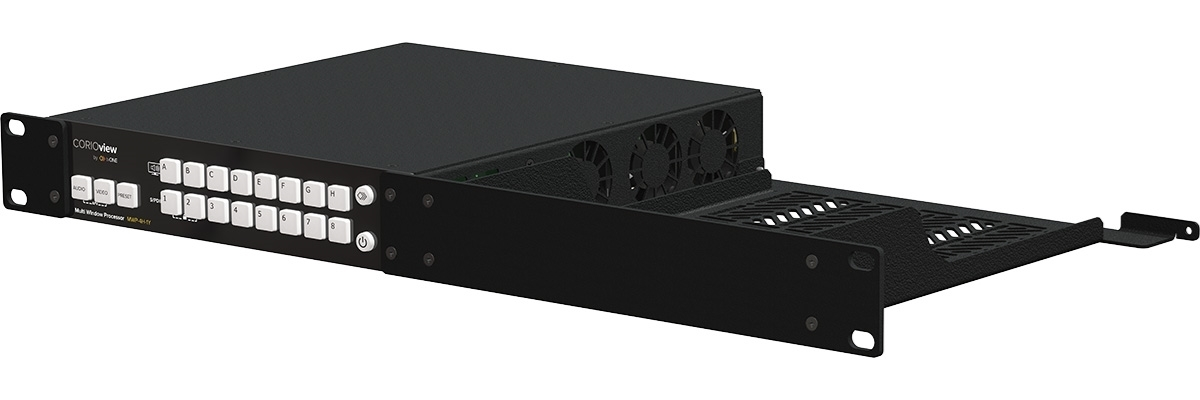 tvONE RM-CV-1RU-SINGLE - Монтажный комплект для установки одной системы CORIOview в стойку