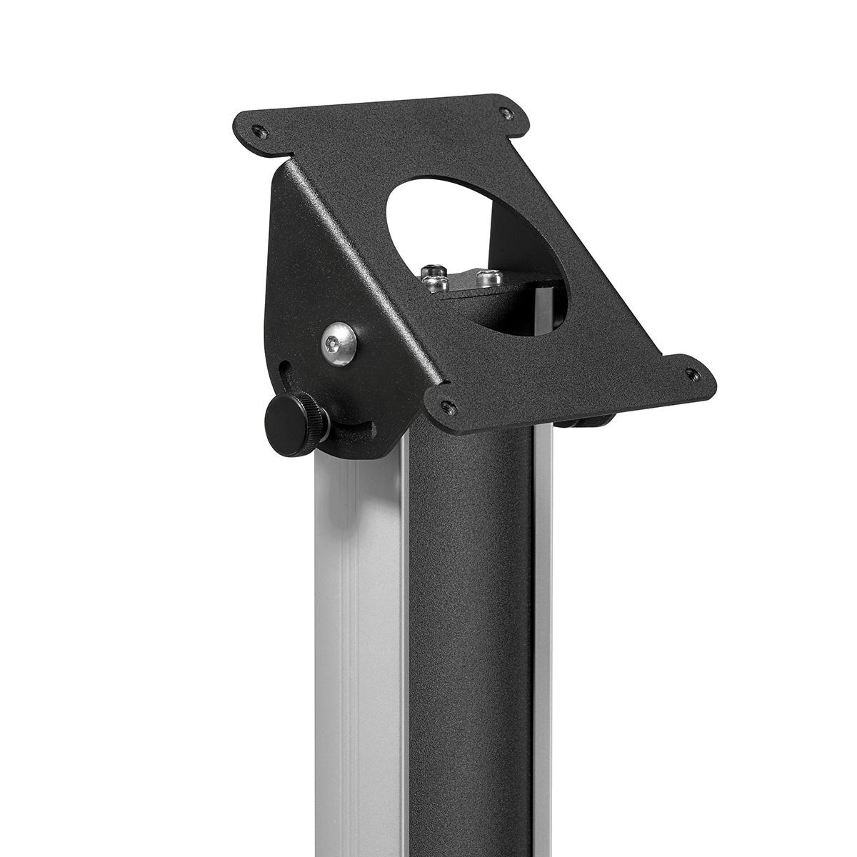 Vogels PTA 3005B - Напольная стационарная стойка для защитных кожухов TabLock, макс. нагрузка 3 кг, черная
