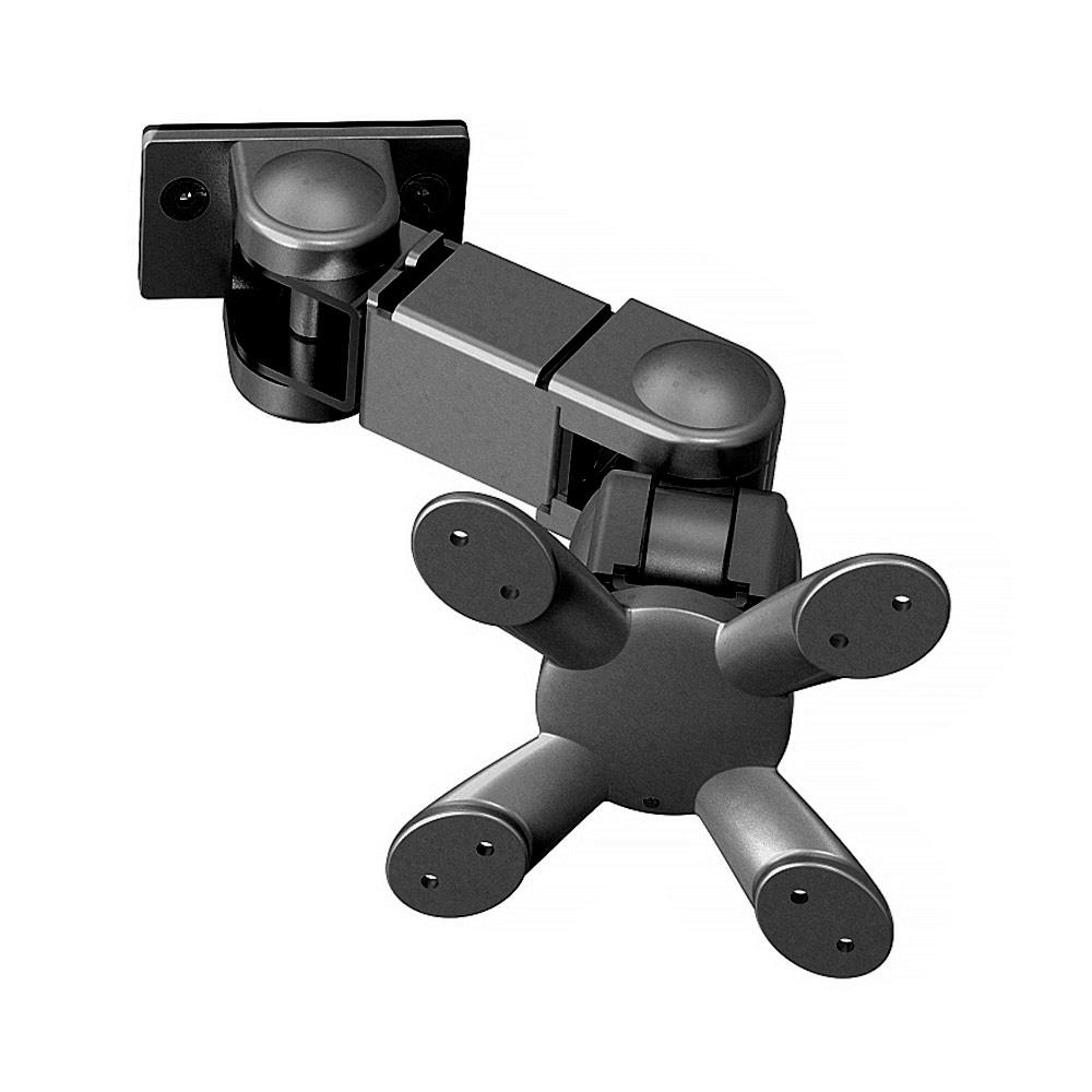 Kondator 438-L18PB - Шарнирный кронштейн серии Conceptum для 1 монитора, макс. нагрузка 8 кг, черный