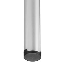 Vogels PUC 2422 Silver - Потолочная штанга 2200 мм модульной крепежной системы Connect-it, макс. нагрузка 40 кг, серебристая