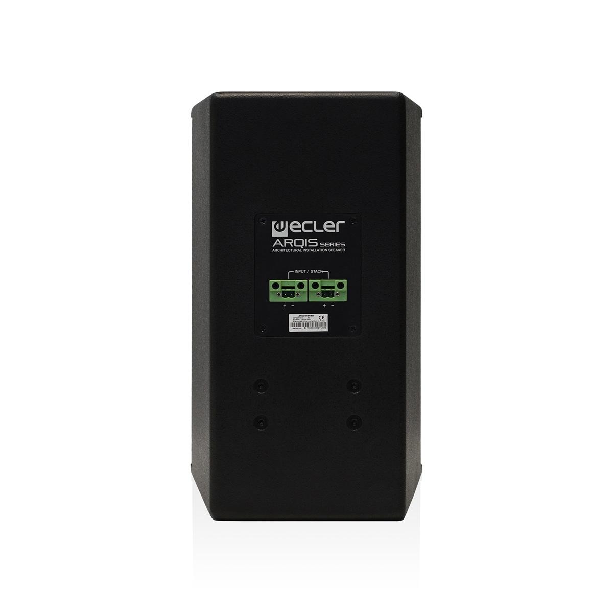 Ecler ARQIS 106BK - Двухполосная настенная акустическая система 6.5'', 120–240 Вт/8 Ом