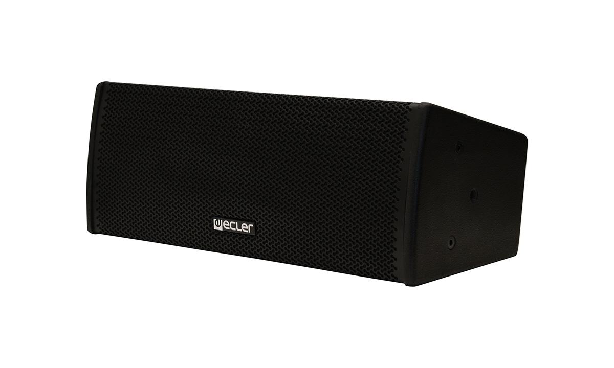 Ecler ARQIS 205BK - Двухполосная настенная акустическая система 2х5,25'', 140–280 Вт/8 Ом
