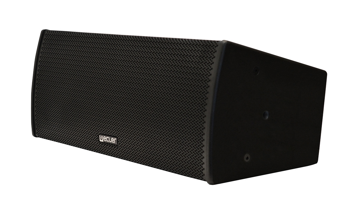Ecler ARQIS 208BK - Двухполосная настенная акустическая система 2х8'', 300–600 Вт/8 Ом