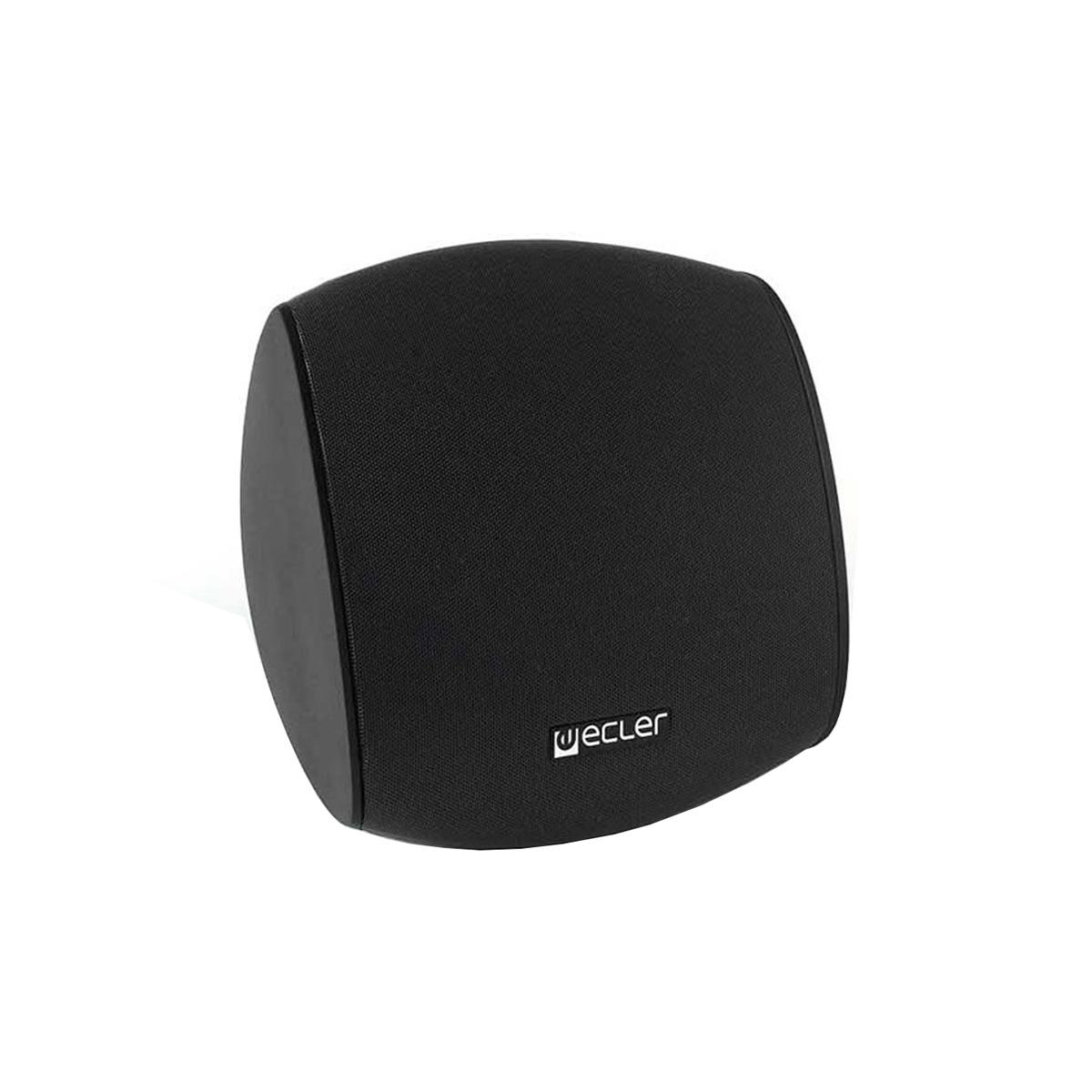Ecler AUDEO106BK - Двухполосная настенная акустическая система 6.5'', 50–100 Вт/8 Ом, 30 Вт – 100 В