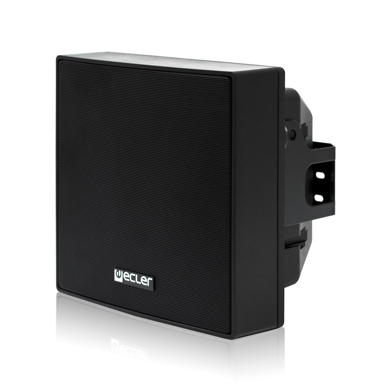 Ecler eAMBIT106BK - Двухполосная настенная акустическая система 3.5'', 50–100 Вт/8 Ом, 30 Вт – 100 В
