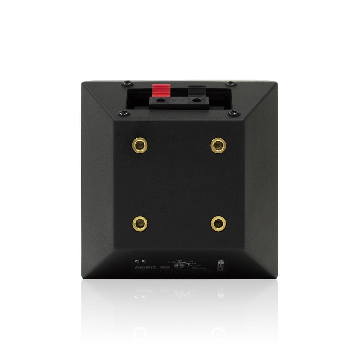 Ecler eAMBIT103BK - Двухполосная настенная акустическая система 3.5'', 25–50 Вт/8 Ом, 15 Вт – 100 В