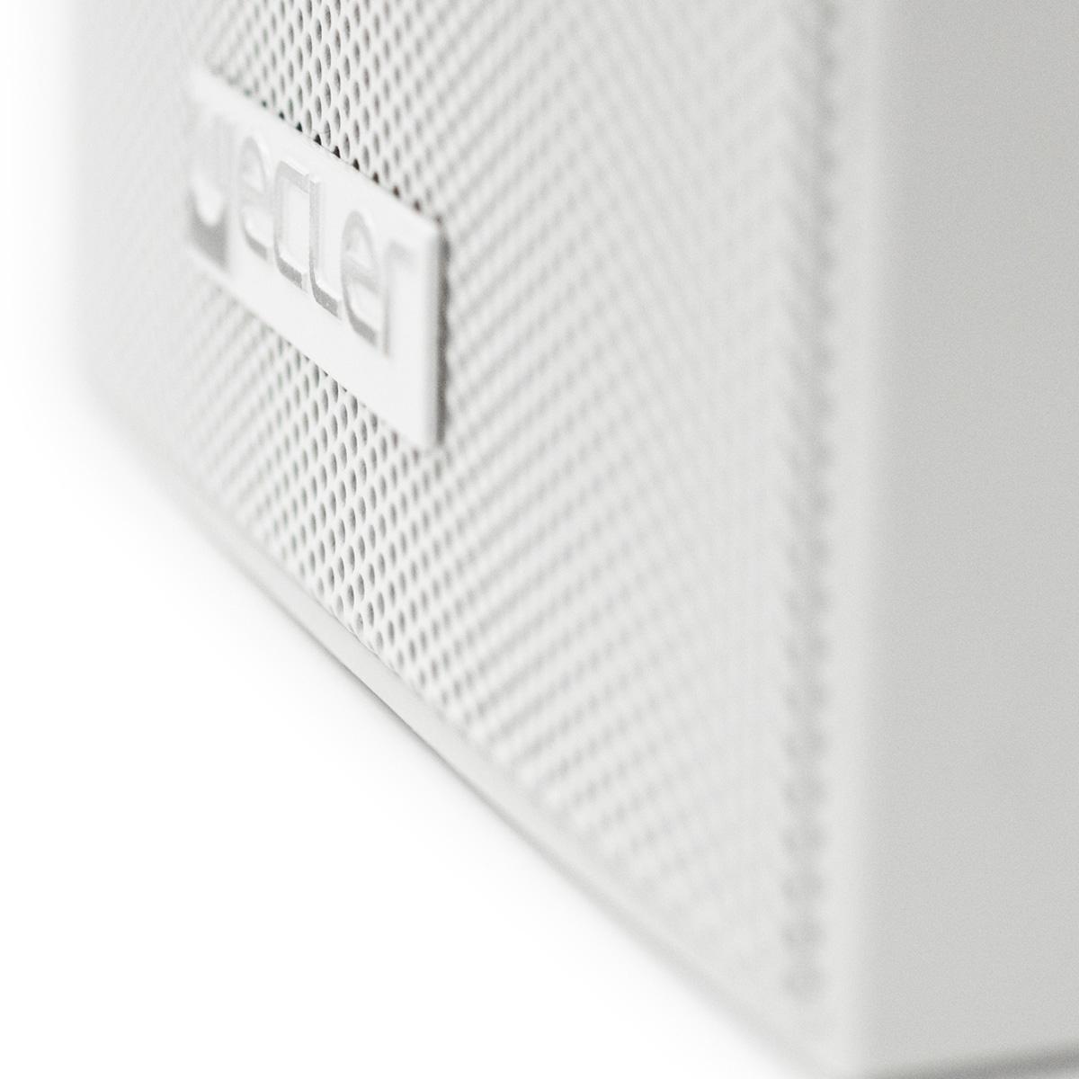 Ecler eAMBIT103WH - Двухполосная настенная акустическая система 3.5'', 25–50 Вт/8 Ом, 15 Вт – 100 В