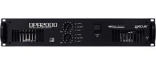 Ecler DPA2000 - Усилитель мощности высокого класса 2x1420 Вт – 2 Ом, 2x940 Вт – 4 Ом, 2x550 Вт – 8 Ом, 1х1880 Вт – 8 Ом