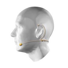 Ecler eMHS1BG - Наушный конденсаторный всенаправленный микрофон, 50 Гц – 16 кГц