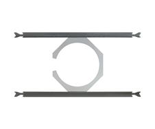 Ecler IC-TB8 - Крепление для установки акустической системы IC8 в модульный потолок