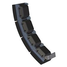 Ecler MP106AMB4 - Монтажный комплект для объединения в кластер четырех eAMBIT106