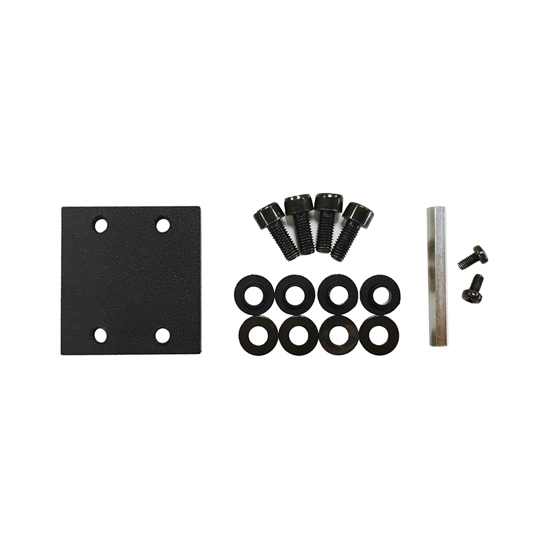 Ecler PUM3 - Монтажный комплект для установки в стойку 19'' двух приборов шириной 1/2U, высотой 2U