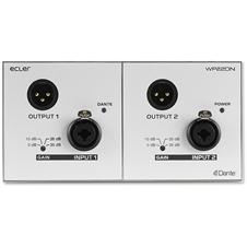 Ecler WP22DN - Настенная панель, транскодер аналоговых аудиосигналов и сигналов интерфейса Dante