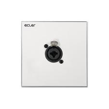 Ecler WPaCNX-CBO - Настенная панель с комбинированным разъемом XLR 3-pin + Jack 6,3 мм (розетка)