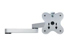 ErgoFount LA-A02S - Двухколенное крепление с адаптером для одного монитора серии BTFS