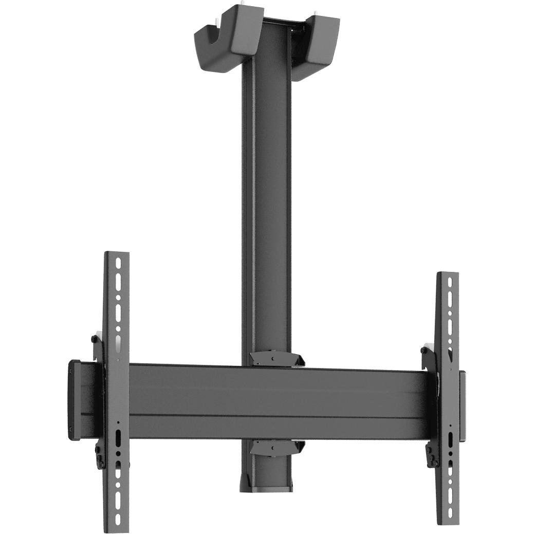 Vogels C0864 Black - Комплект потолочного крепления для дисплея диагональю 39–65'', длина штанги 800 мм, макс. нагрузка 80 кг