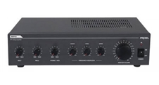 Proel PA AMP03 - Четырехканальный микшер и усилитель мощности 30 Вт – 4 Ом, 25/70/100 В