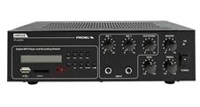Proel PA AMP03VR - Четырехканальный микшер и усилитель мощности 30 Вт – 4 Ом, 25/70/100 В со встроенным рекордером