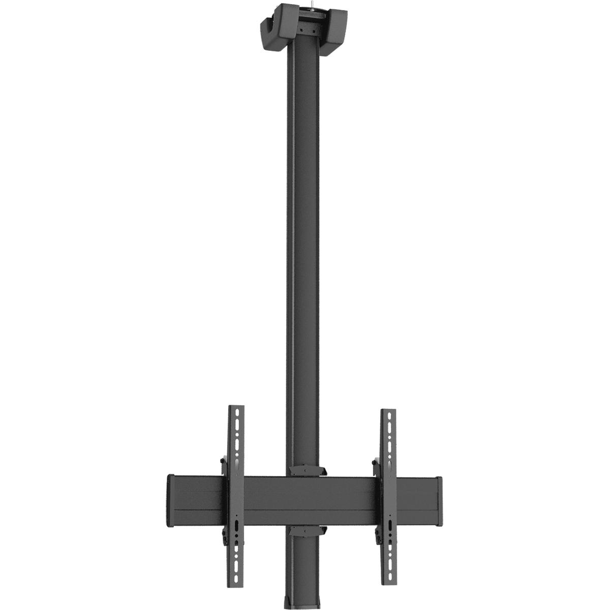 Vogels CT1564 Black - Комплект потолочного поворотного крепления для дисплея диагональю 39–65'', длина штанги 1500 мм, макс. нагрузка 80 кг
