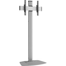 Vogels F1864 Silver - Напольный стационарный стенд для дисплея диагональю 39–55'', VESA до 400x400 мм, макс. нагрузка 80 кг