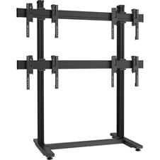 Vogels FB2264 Black - Напольный стационарный стенд для видеостены 2х2 из дисплеев диагональю 49–55'', альбомная ориентация, макс. нагрузка 320 кг