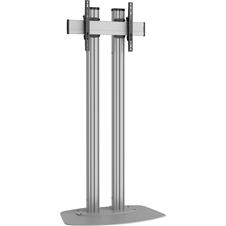 Vogels FD1864 Silver - Напольный стационарный стенд для дисплея диагональю более 55'', VESA до 600x400 мм, макс. нагрузка 80 кг