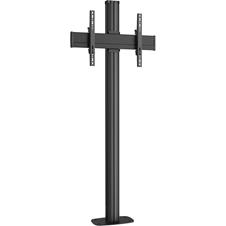 Vogels FM1864 Black - Напольный стенд для дисплея диагональю 39–55'' с фиксацией к полу, VESA до 400x400 мм, макс. нагрузка 80 кг