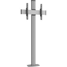 Vogels FM1864 Silver - Напольный стенд для дисплея диагональю 39–55'' с фиксацией к полу, VESA до 400x400 мм, макс. нагрузка 80 кг