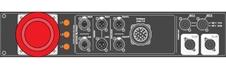 Axiom MDISTRO03 - Главная коммутационная панель для подключения АС и сабвуферов