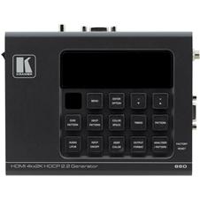 Kramer 860 - Генератор и анализатор сигнала HDMI 2.0, поддержка 4K