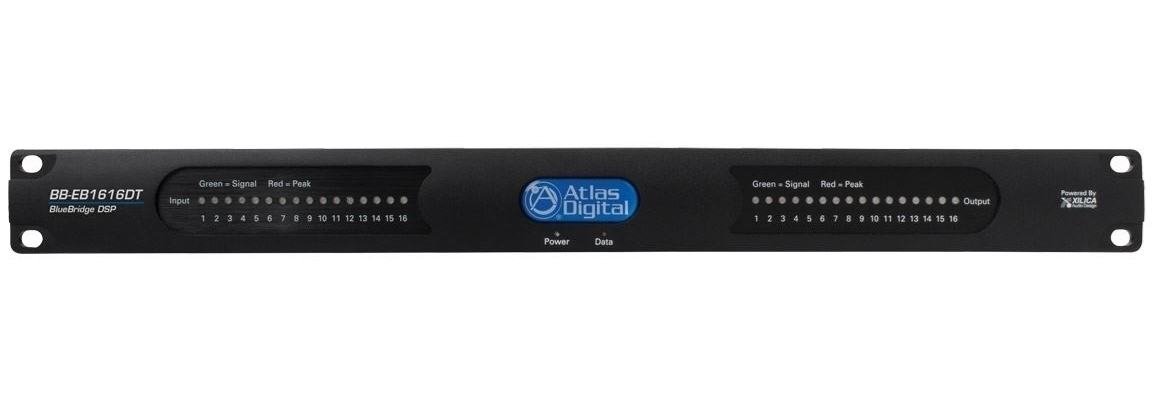 Atlas IED BB-EB1616DT - Блок расширения интерфейсов аудиопроцессоров BlueBridge c Dante, 16 входов/ 16 выходов
