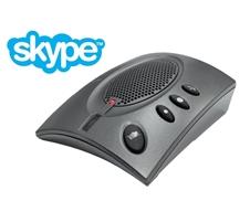 ClearOne CHAT 60 - Персональный спикерфон для Skype с кнопкой управления звонками
