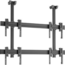 Vogels C2215 Black - Потолочное крепление для видеостены 2х2 из дисплеев 42–55'', макс. нагрузка 160 кг
