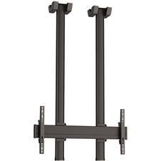 Vogels CD1584 Black - Комплект потолочного крепления для дисплея диагональю более 65'', длина штанги 1500 мм, макс. нагрузка 80 кг