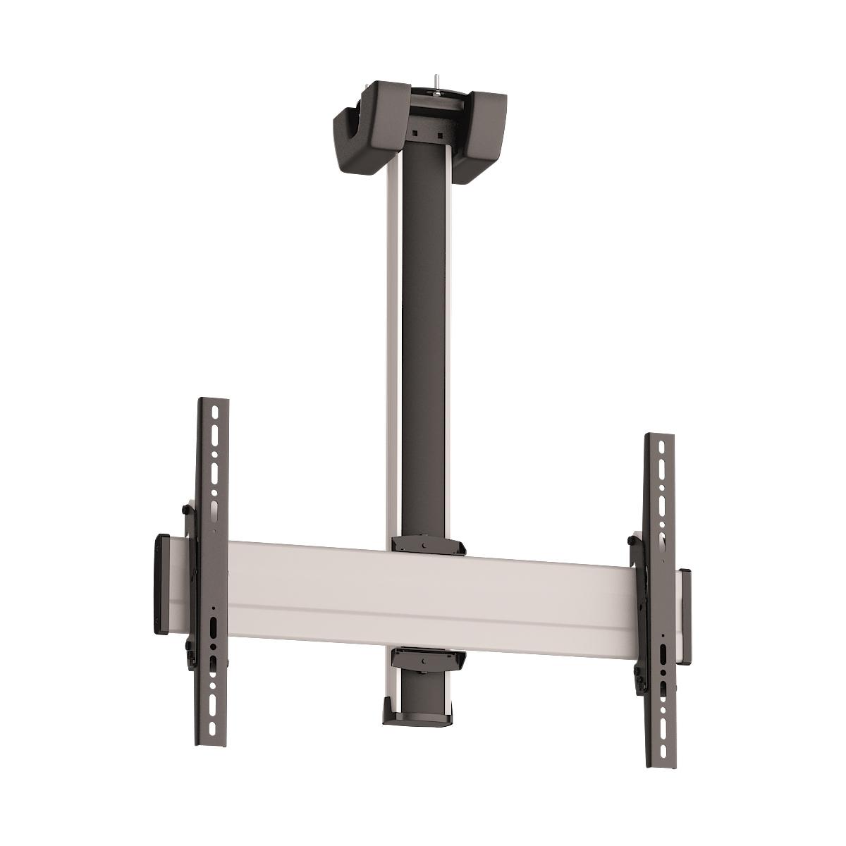 Vogels CT0864 Silver - Комплект потолочного поворотного крепления для дисплея диагональю 39–65'', длина штанги 800 мм, макс. нагрузка 80 кг