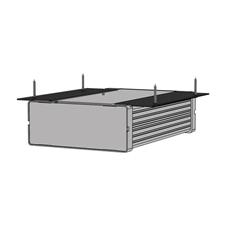 Audac MBS101T - Монтажный комплект для установки одного устройства на поверхность