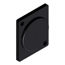Procab VCD10 - Заглушка D-size, упаковка 10 шт.